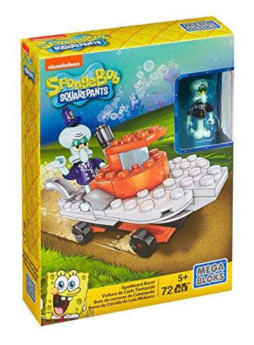Mega Bloks SpongeBob SquarePants Squidward Racer Playset