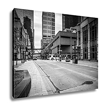 Amazon Ashley Canvas Street And Buildings In Downtown