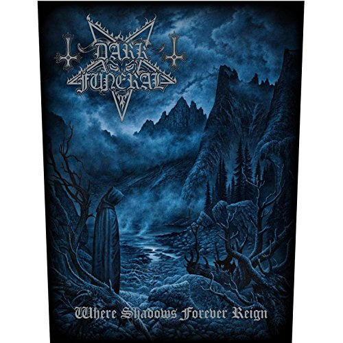 DARK FUNERAL WHERE SHADOWS FOREVER REIGN Backpatch