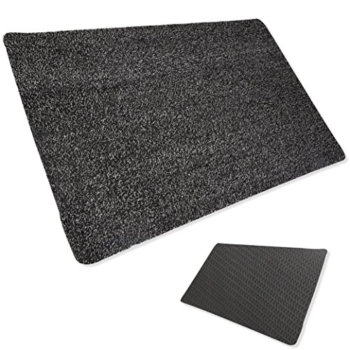 Super Trap Entrance - BB Prevent Super Absorbent Indoor Magic Doormat - Large Non Slip Rubber Lined Entrance Rug with Microfiber - Magically Traps Dirt, Mud, Rain and Snow With No Wiping Required - Ideal for Pets