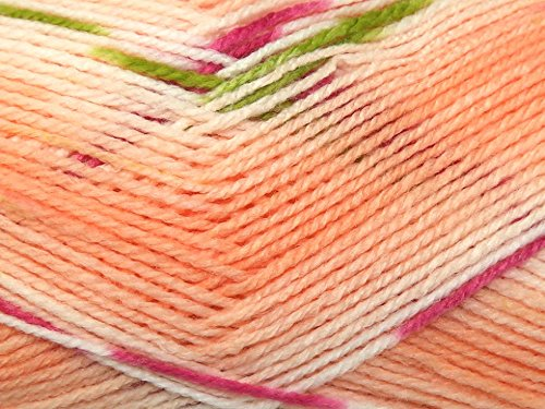 Hayfield Baby Blossom Knitting Yarn DK 359 Perfectly Peachy - per 100 gram ball