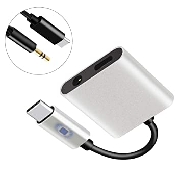 Adaptador de cable de audio y cargador para auriculares tipo ...