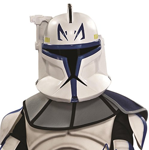 Blue Clone Trooper Costume (Rubies Star Wars Clone Wars Clonetrooper Rex Child's Mask (2-Piece))