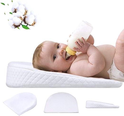 NLJYSH Algodón Blanco de Memoria bebé cómodo cojín de Lactancia ...