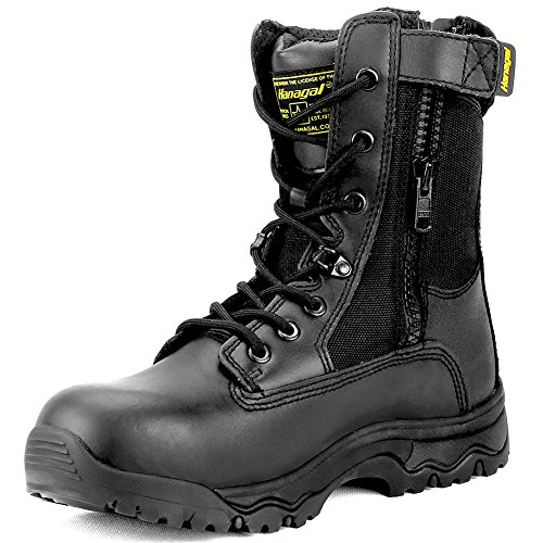 Hanagal Men's Escalade Tactical Boots,Black,11.5 D(M) US