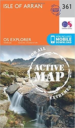 Isle of Arran (OS Explorer Active Map)