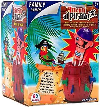 Viscio Trading 174391 - Juego del Pirata en el Barril con 16 Espadas: Amazon.es: Juguetes y juegos