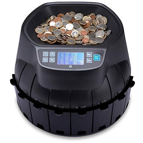 58115f535333a ZZap CS40 Geldzählmaschine Münzzählautomat Geldzähler sortierer ...