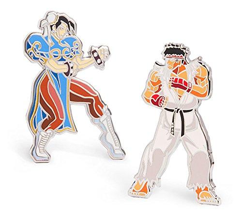 Street Fighter Enamel Pin ()