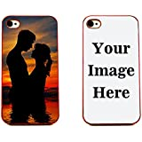 Iphone 4 Case, Iphone 4s Case, Boho Tronics Personalized Custom Picture Phone Case Customizable (Iphone 4 / Iphone 4s) (Red)