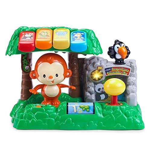 VTech Learn and Dance Music Interactive Zoo Monkey Toy for Kids by VTech Toys
