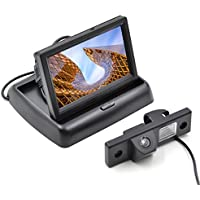 Special Car Rear View Camera for CHEVROLET CRUZE with 4.3 Inch Folding Car Monitor Car Backup Parking Monitor