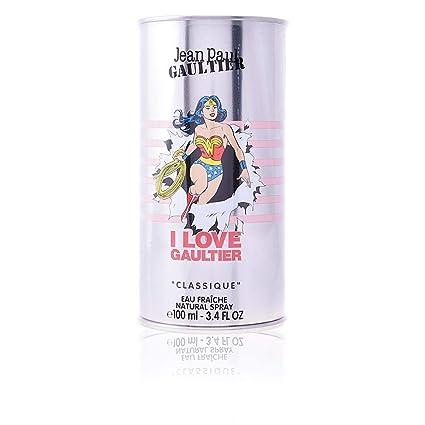 Toilette Paul Eau 100ml Fraiche Vaporisateur Classique De Gaultier Jean Wonderwoman hdxsrtQC