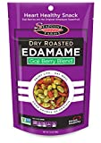Seapoint Farms Dry Roasted Edamame Goji Berries Blend, 3.5 oz pouch, 12-Pack