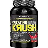 ALLMAX CREATINE KRUSH LOADED, Post Workout Muscle, Fruit Punch Recharge, Pharmaceutical Grade Dietary Supplement, 3.3 lbs, 30 Servings per Container