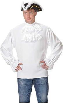 DISBACANAL Camisas de época con chorreras: Amazon.es: Juguetes y juegos