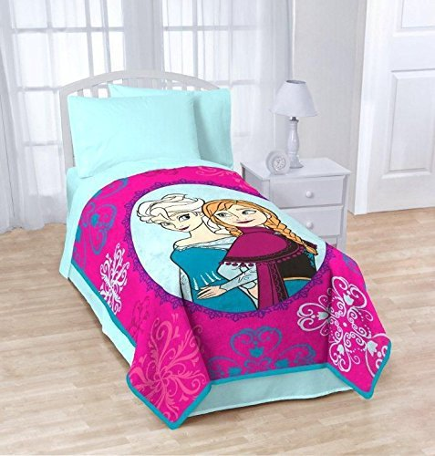 Anna and Elsa Snowflake Blanket