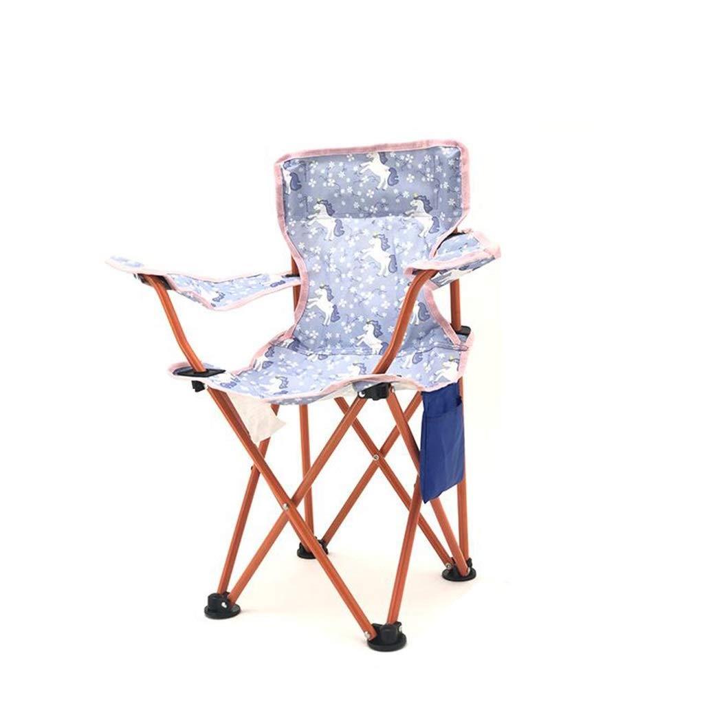 F  1949shop FKYGDQ portable portable (Chaise de Camping Lourd) Chaise Pliante Robuste, Durable, Confortable et MultiCouleure (Couleur  A)