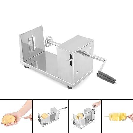 Uten Stainless Steel Manual Potato Spiral Cuttervegetable