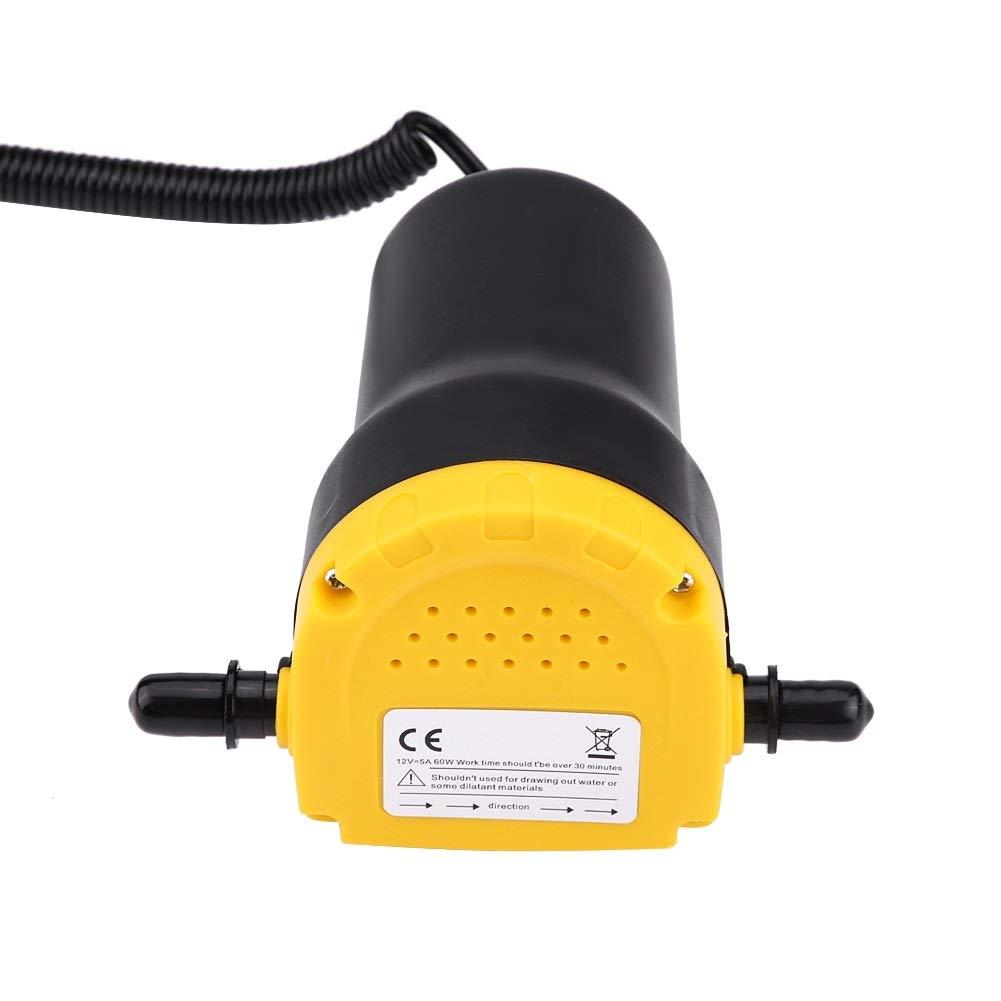 Pompa elettrica Pompa di trasferimento diesel olio motore aspiratore DC 12v 60w 250l ora for auto quad
