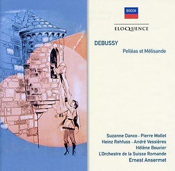Amazon.com: Debussy: Pelleas et Melisande (1952 mono): Music