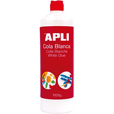 APLI 12851 - Cola, 1.000 g, color blanco