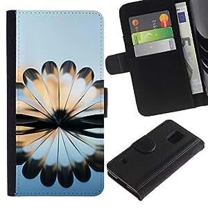 iKiki Tech / Cartera Funda Carcasa - Book Art Design Arhitecture Modern Random - Samsung Galaxy S5 V SM-G900