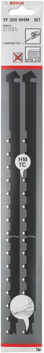 BOSCH CARBURE-lames TF 300 NHM divers matériaux hartme 2 pièces