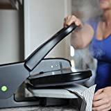 Steamfast SF-623 Mid-Size Steam Press with Multiple Fabric Settings and Steam Burst Function