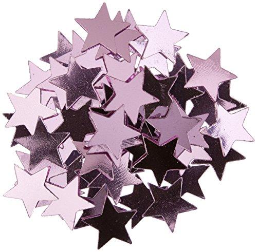 Fanci-Fetti Stars (pink) Party Accessory  (1 count) (1 Oz/Pkg) (Star Confetti Pink)