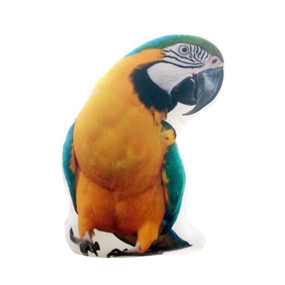 East Majik Animal Simulated Pillow Animal Shape Cushion Pillow £¨Parrot£