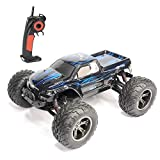AMOSTING RC Cars Remote Control Car, 1:12 2.4Ghz 9.6V Rc car Remote Control Cars, 33MPH Rc Offroad Rc Car Fast 2WD, Offroad RC Trucks S911 9.6 Volt Rechargeable Battery Included