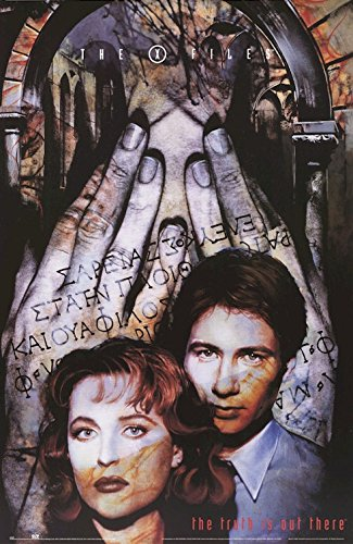the-x-files-movie-tv-show-poster-fox-mulder-dana-scully-size-23-x-35