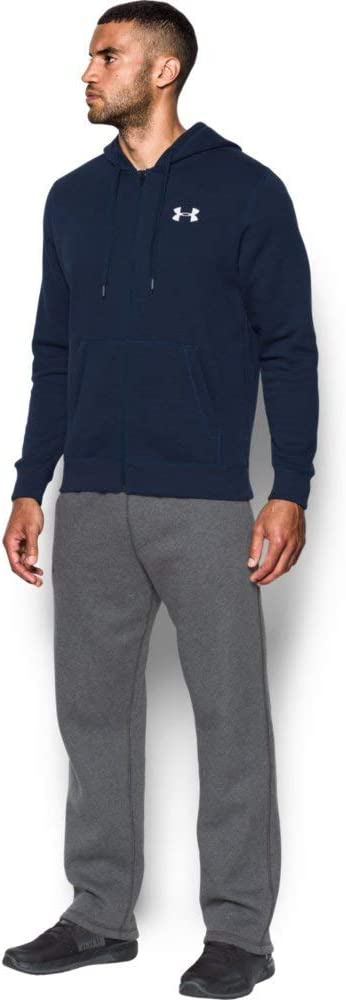 Under Armour Rival Fitted Full Zip Sweat-Shirt Zipp/ée-Homme
