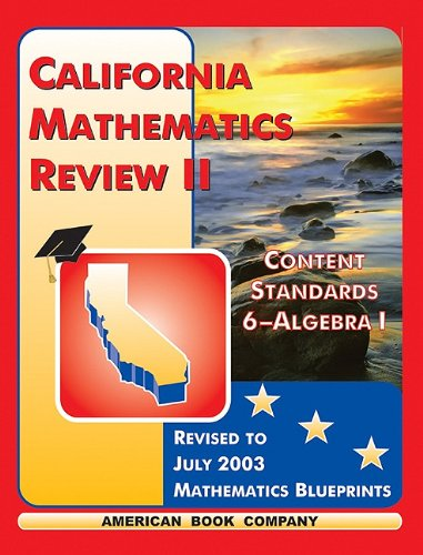 California Mathematics Review 2