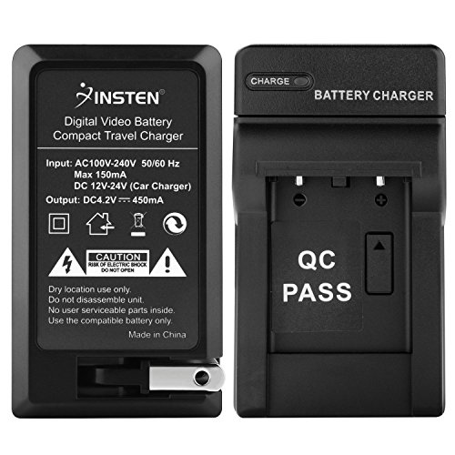 - Insten For Fuji NP-45 AC DC Battery Charger Set for Fuji FinePix S610 XP10 J10 J38 SLR Camera and Compatible with Casio NP-80 / Olympus Li-42B / Nikon EN-EL10 / Pentax D-Li63 / Kodak KLIC-7006 Battery