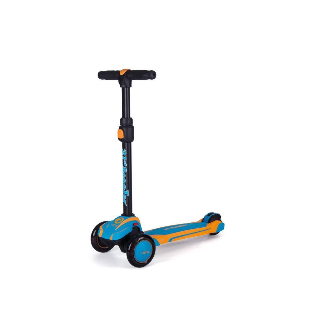 肌触りがいい TLMYDD E 子供のスクーター三輪ダブルショック吸収フラッシュ二色プラグとハングアップ収納スクーター、60 x 27 x cm 87 27 cm 子供スクーター (色 : D) B07NMMLSD5 E E, fabricbeens:d04d58f7 --- a0267596.xsph.ru
