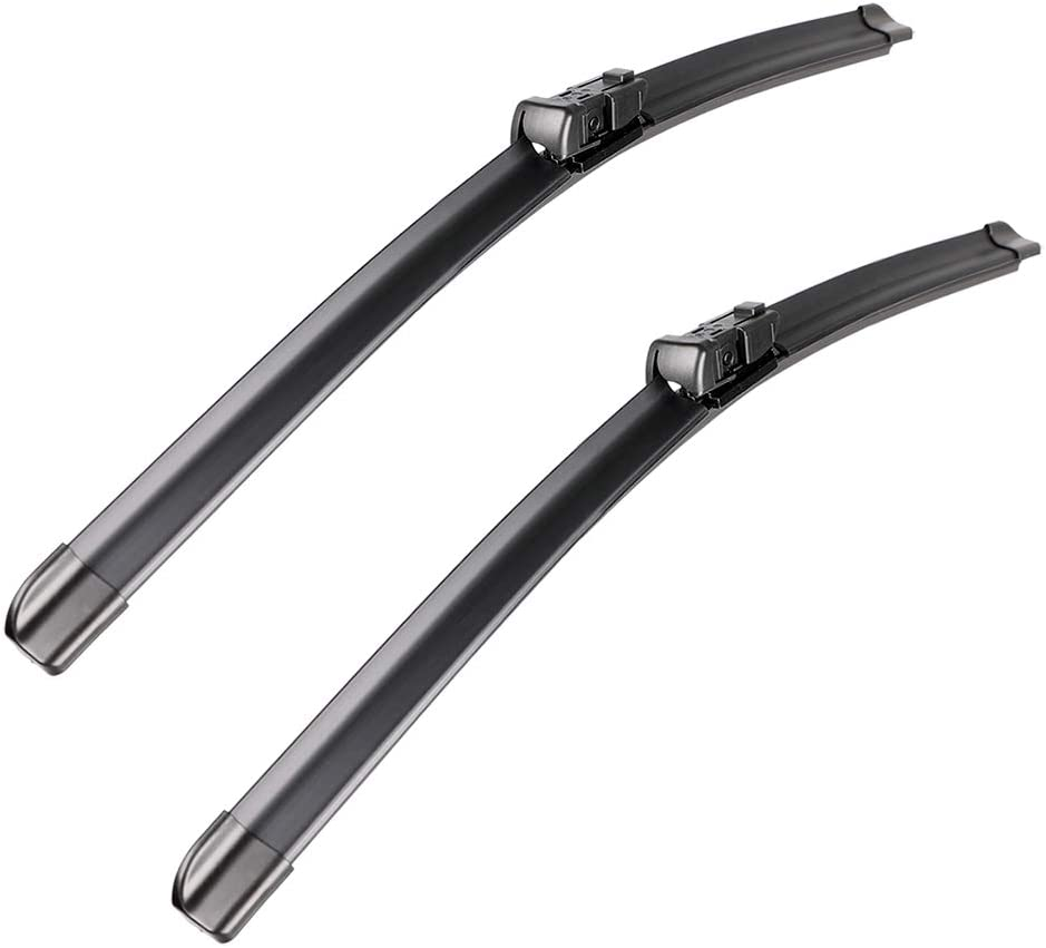 "2 wipers Factory Fit Gmc Acadia Chevrolet Malibu Traverse Saturn Aura Outlook Vw Tiguan Buick Enclave Land Rover Range Rover Evoque Original Equipment Wiper Blade Set 24""/21"" (Set of 2) Top Lock 19mm"