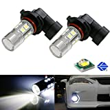 iJDMTOY CREE High Power SMD 9145 9150 9140 H10 LED Bulbs For Fog Light, Xenon White
