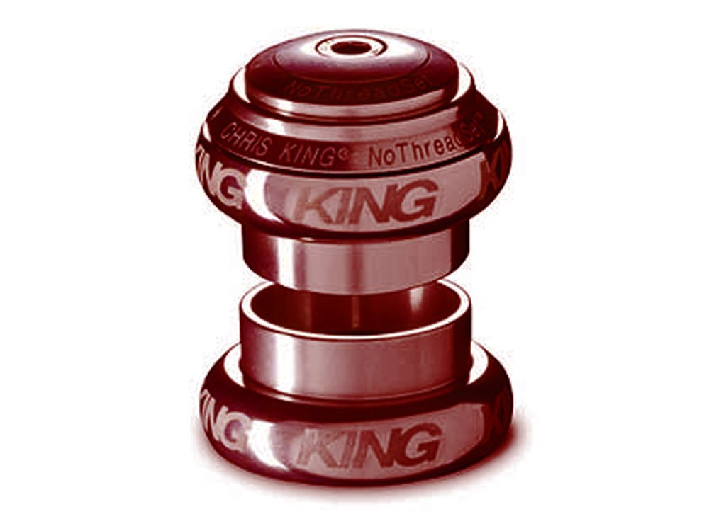 CHRIS KING(クリスキング) 1-1/8 NTS GRIPLOCK ヘッドセット SOTTO VOCE レッド FR0045 B076HP9Y3G