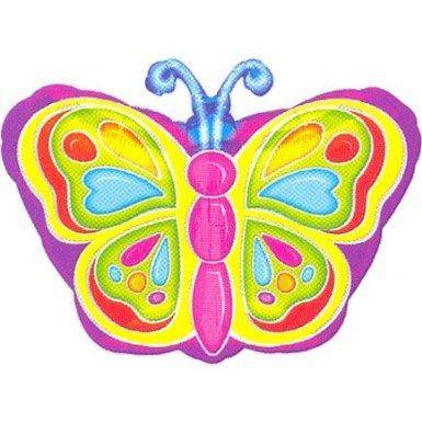 Anagram International 725501 Bright Butterfly Junior Shop Balloon Pack, 18