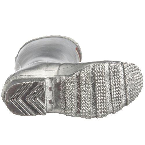 Hunter Junior Young Original - Zapatos de punta redonda sin cordones Plata (Silver)
