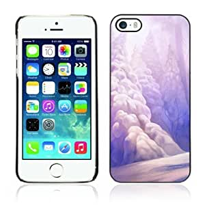 Designer Depo Hard Protection For HTC One M7 Phone Case Cover Winter Wonderland Painting Art