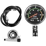 Generic Waterproof Bicycle Bike Speedometer Analog Mechanical Odometer With Hardware New