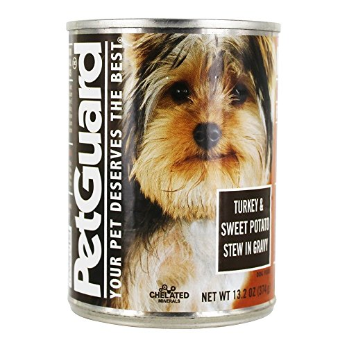 Pet Guard Turkey And Sweet Potato Stew In Gravy Grain-Free Canned Dog Food, 13.2 Oz.