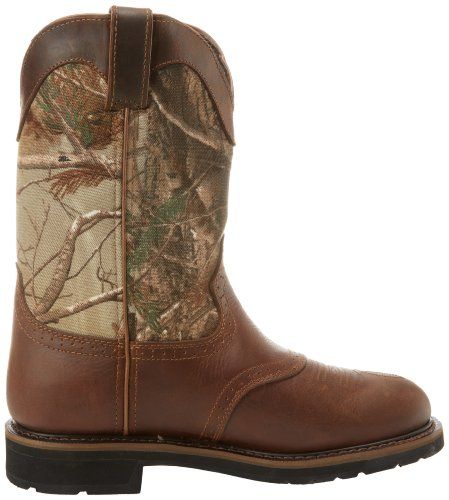 Justin Original Work Boots Men S Stampede Camo Waterproff