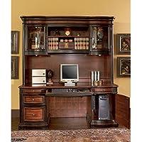 Pergola Double Pedestal Kneehole Credenza Desk