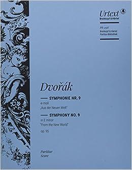 ドヴォルザーク: 交響曲 第9番 ホ短調 Op.95 「新世界より」/ブライトコップ & ヘルテル社/指揮者用大型スコア