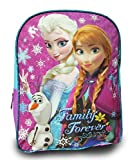 "Disney Frozen Princess Elsa and Anna Large 15"" School Bag, New Design (Toy)"