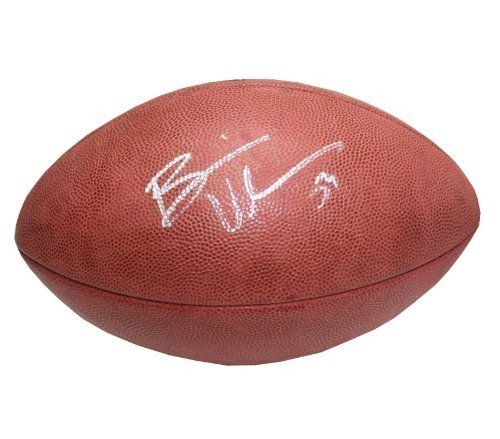 Brian Urlacher Autographed Signed Chicago Bears NFL Game Ball Football - Certified (Nfl Autograph Game Ball)